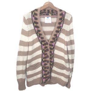 Anthropologie Sparrow Hopi Basket Sweater Cardigan